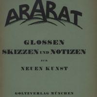 Der Ararat, Vol. 1, No. 8