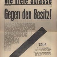 Die freie Strasse, No. 9