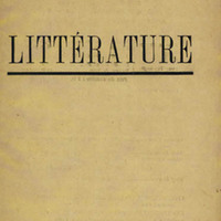 Littérature, No. 6