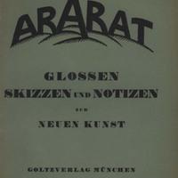 Der Ararat, Vol. 1, No. 9-10
