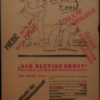 Gegen den Ausbeuter! (Advertisement for Der blutige Ernst)