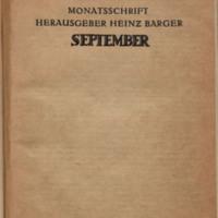 Neue Jugend, No. 9