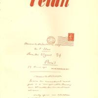 L'Elan, No. 9