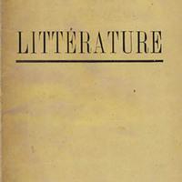 Littérature, No. 5