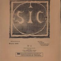 Sic, No. 3