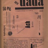 Der Dada, No. 1