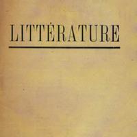 Littérature, No. 7
