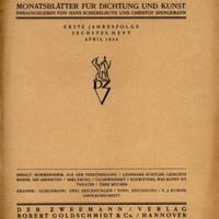 Der Zweemann, No. 6