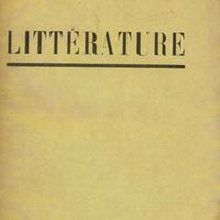 Littérature, No. 11