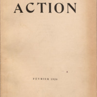 Action, Vol. 1, no. 1