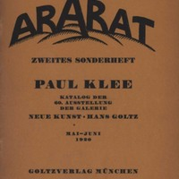 Der Ararat, Vol. 1, Second Special Number