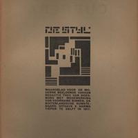 De Stijl, Vol. 1, no. 9